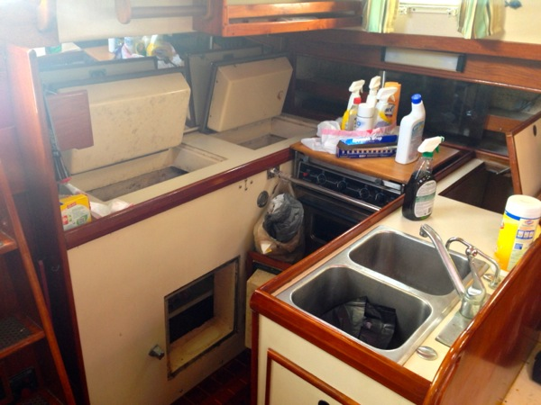 Galley Remodel Project- Pt. 1: The Demo