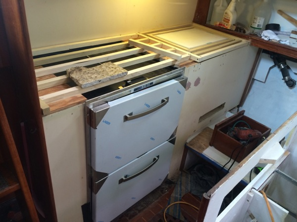 Galley Remodel Project- Pt. 3: The Fridge & Freezer