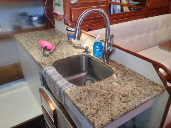 Galley Remodel Project- Pt. 4: We've got granite!