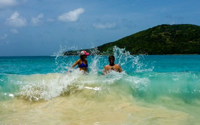 Sharing Boat Life with Friends: Spanish Virgin Islands